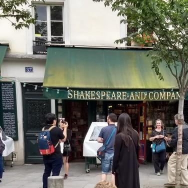 Paris; Left Bank, France